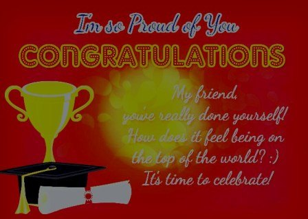 Congratulations Message For Being Honor Student