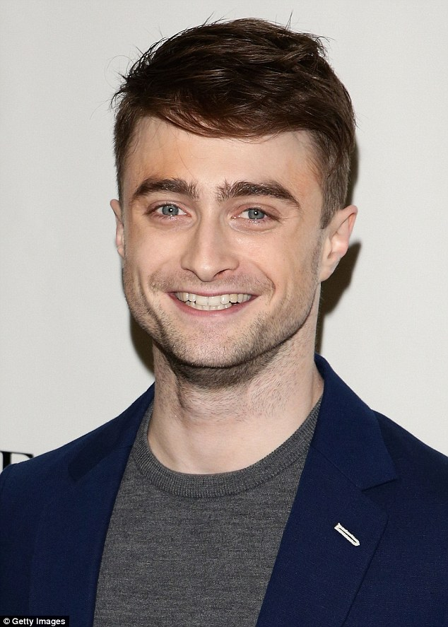 The aqualine, as sported here by Daniel Radcliffe, is another desirable shape that is often requested by patients