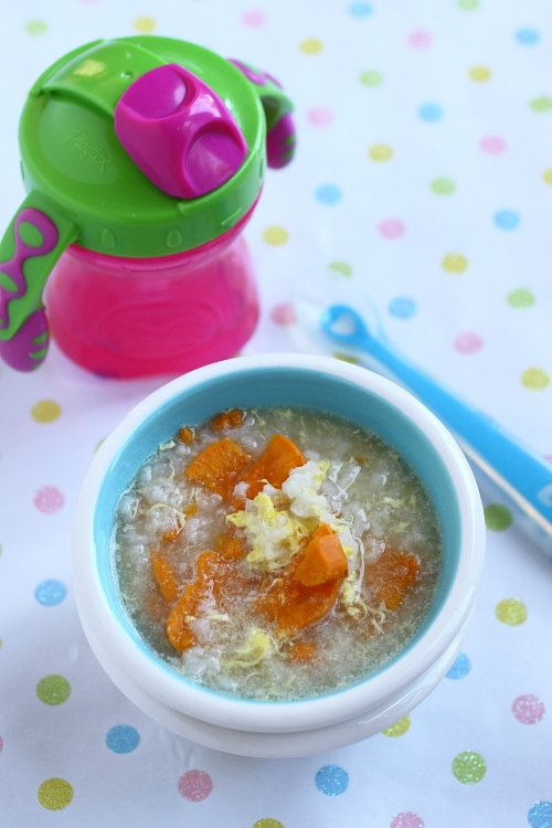 Baby Porridge - this is a simple, versatile recipe that your baby is sure to love!